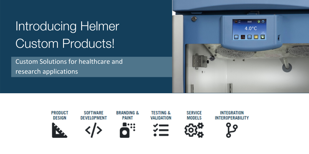 Introducing Helmer Custom Products!