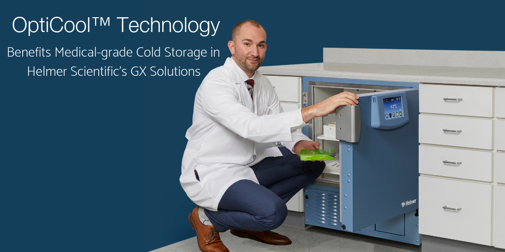 OptiCool™ Technology Benefits Medical-grade Cold Storage in Helmer Scientific's GX Solutions