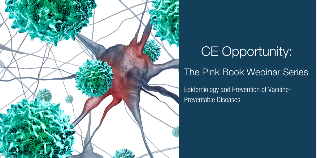 CE Opportunity: The Pink Book Webinar Series