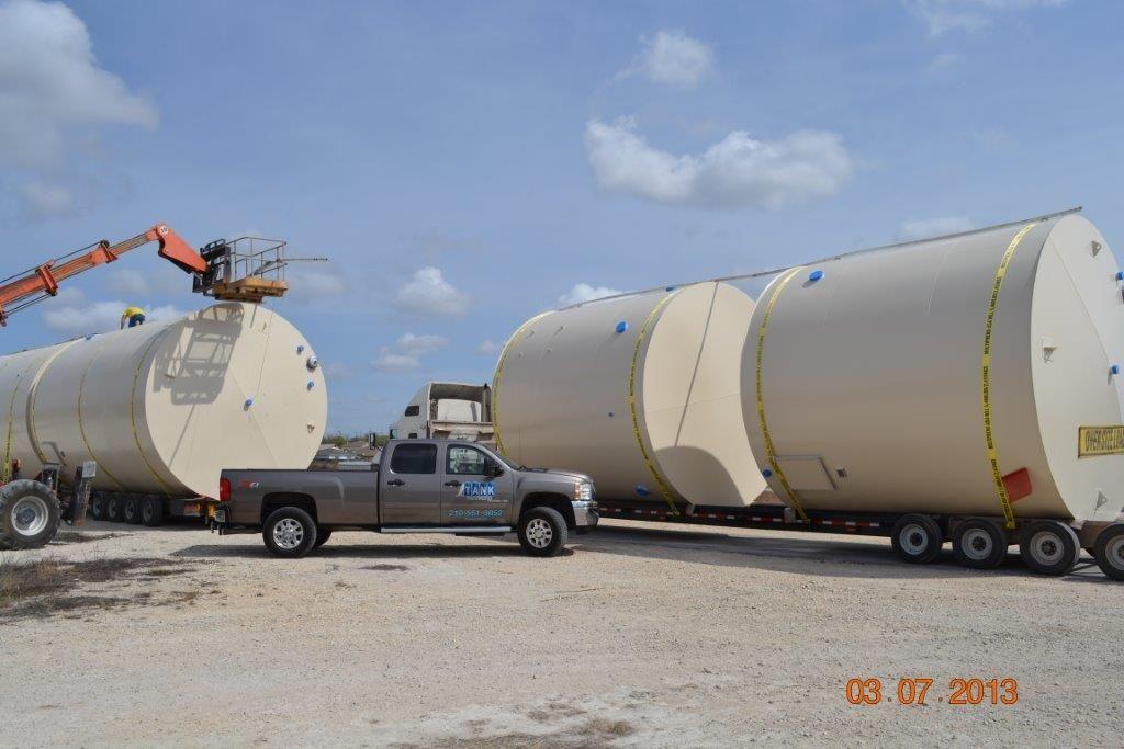 Oil Field Steel Storage Tanks Tank Partners Odessa and Seguin Tx