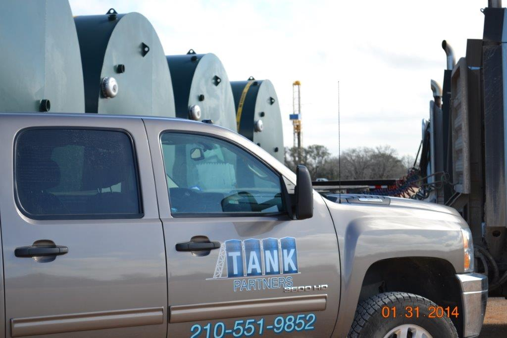 When our customers need their tanks, we are just a phone call away. Tanks are stored on our 40 acre facility in Seguin Texas ready for delivery when you want them.