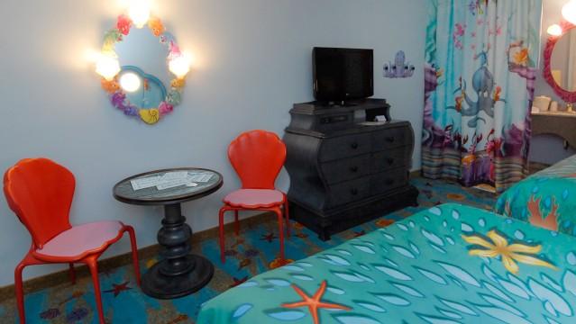 Little Mermaid Rooms At Disney Art Of Animation Resort Offer Whimsical Decor Making You Feel Like