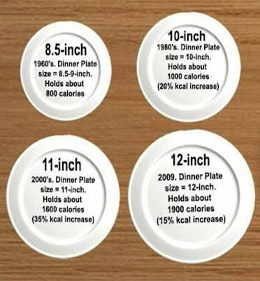 plates over the years