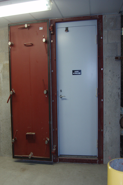 Hinged Watertight Door D3c