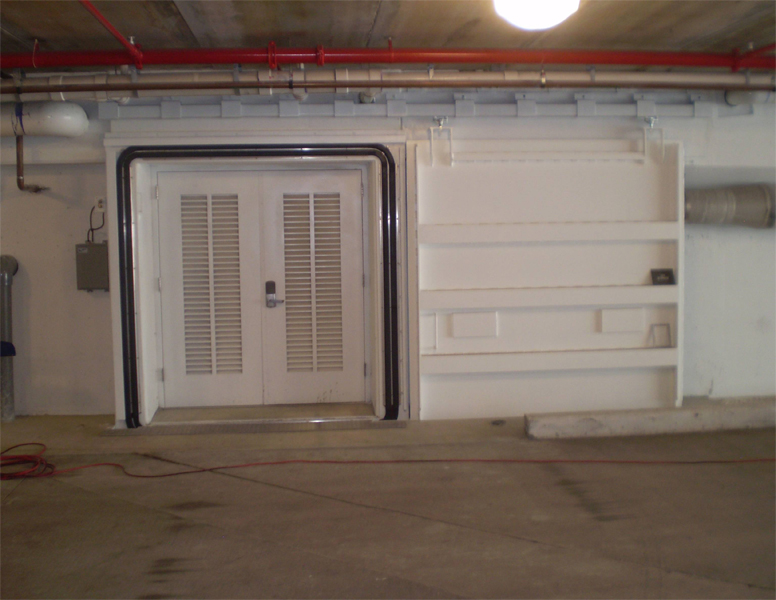 Sliding Watertight Flash Flood Door Fast Flood Protection