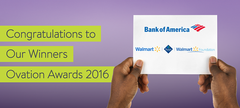 Ovation Awards Winners: Bank of America Foundation, Walmart and Walmart Foundation