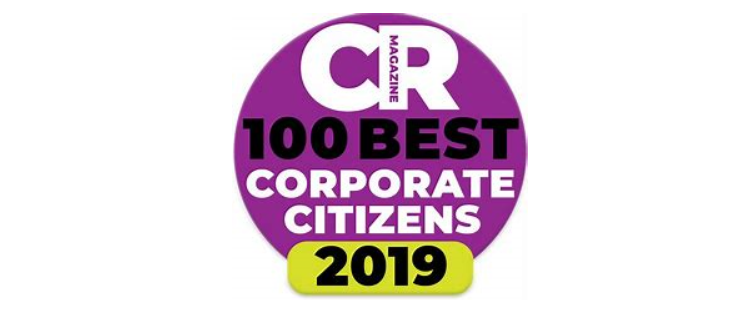 Congratulations to CR Magazine's 100 Best Corporate Citizens