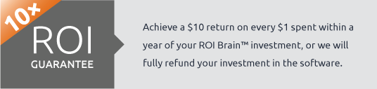 10× ROI Guarantee