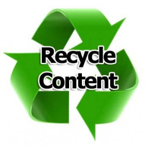 Recycle B2B Marketing Content