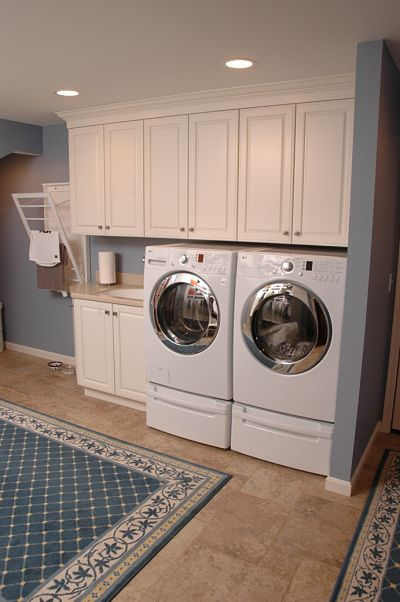 6 great laundry room design ideas for Laundry room renovation