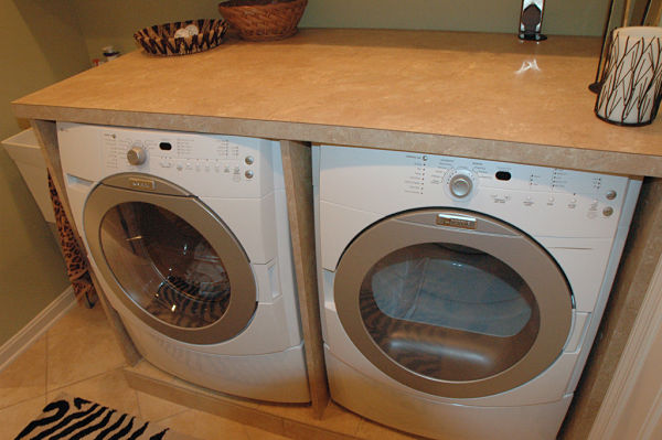 Counter Height Washer And Dryer : built in washer and dryer