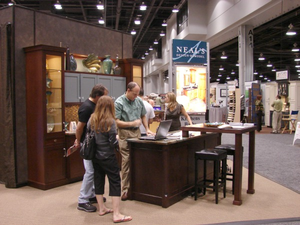 Neal s presents home makeover design ideas at the home garden show - Show the home photos ...