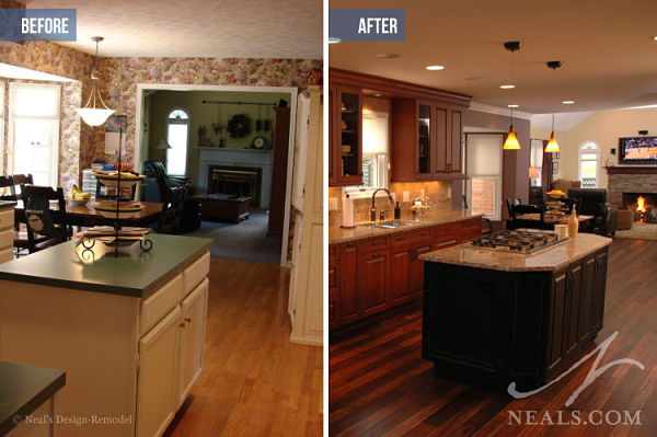 Kitchen Remodel Before And Afer