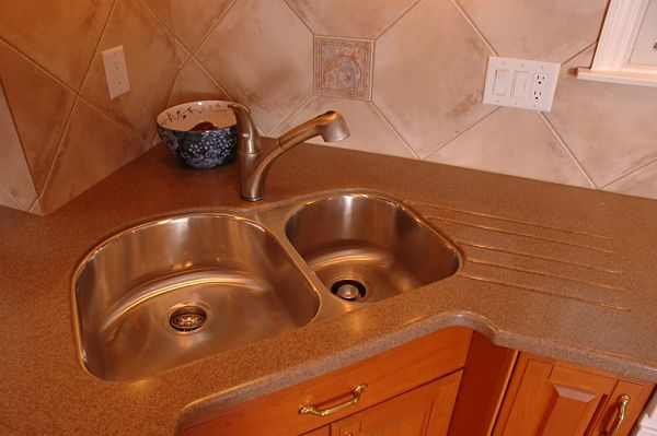 corner kitchen sink undermount tips for selecting the right kitchen sink style for your home 5853