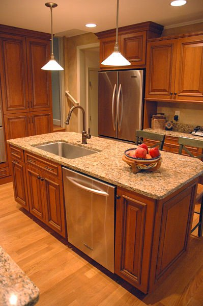 how to design a kitchen island that works small kitchen island with sink houzz