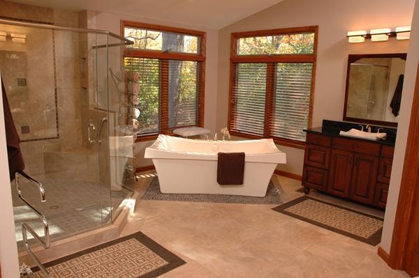 Luxury Bathroom Blueprints: 4 Design Ideas For A Luxury Master Bathroom Spa