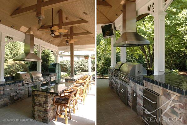 8 great design ideas for outdoor living spaces for Open veranda design
