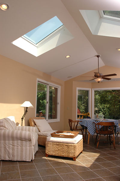 4 things to know about three season room design for Large skylights