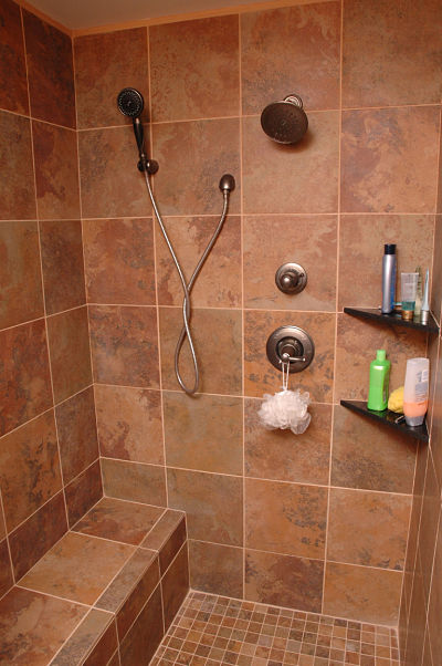 Expand your living space with a basement multipurpose room for Walk in showers without doors