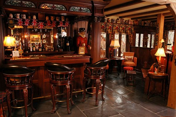 project spotlight basement remodel features an authentic english pub