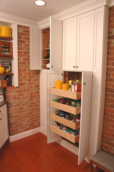 Full Height Kitchen Cabinet
