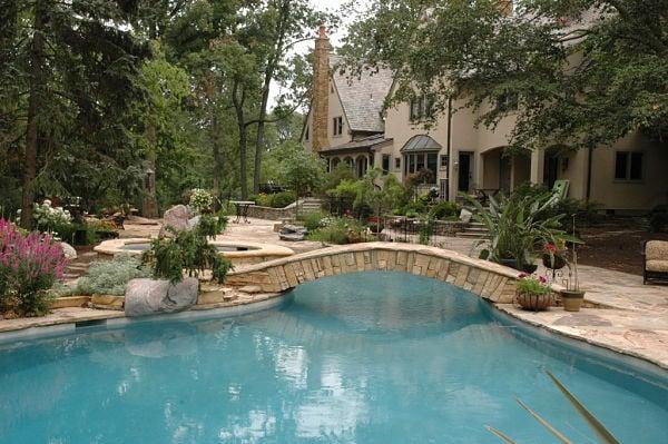 Project Spotlight: Backyard Retreat with Lagoon-Style Pool