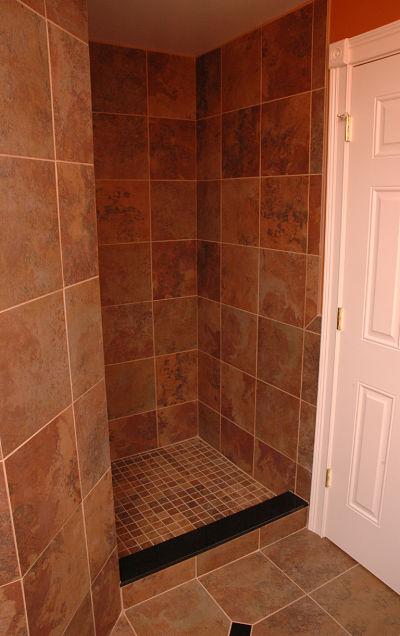 The best bathroom design trends for 2014 - Walk in shower no door ...