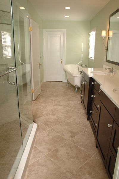 Project spotlight master bath for a vintage home How long does a bathroom renovation take