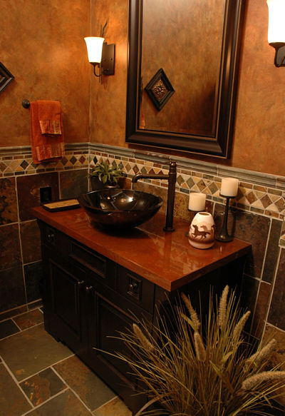 The best bathroom design trends for 2014 - Half bathroom remodel ideas ...