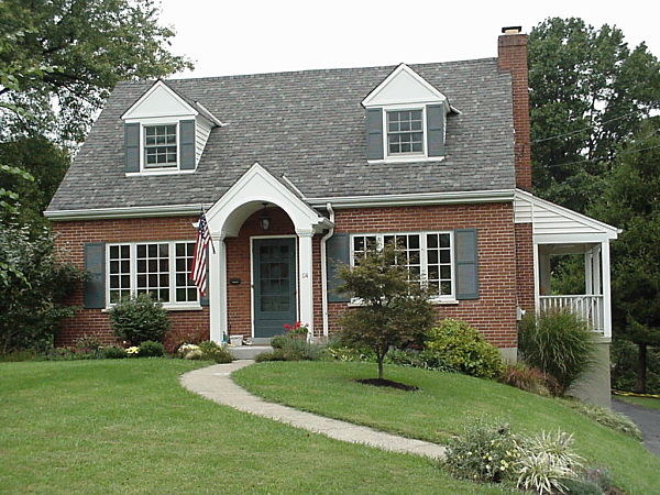 Covered Entryways And Front Porches Adding Curb Appeal To: portico on cape cod house