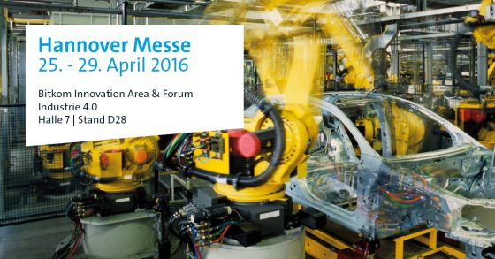 Bitkom Innovation Forum – Hannover Messe – The unbelievable Machine Company