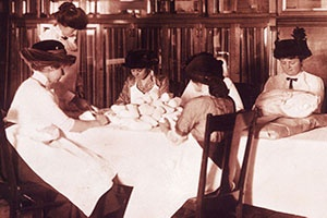 volunteers making gauze rolls- early 1900's-cropped.jpg