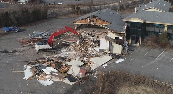 Exit 21 Catskill demolition