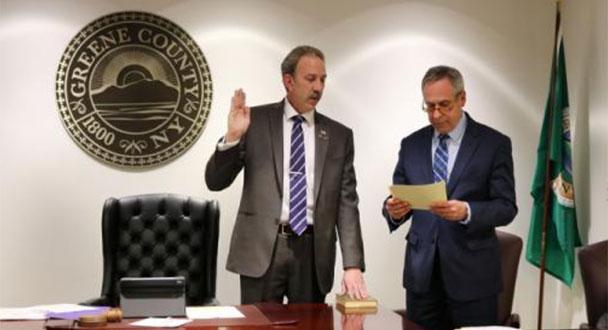 Patrick Linger of New Baltimore Chairs 2019 Legislature