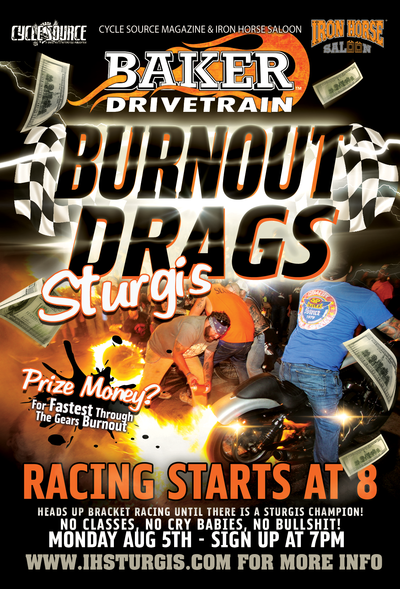 Burnout Drags
