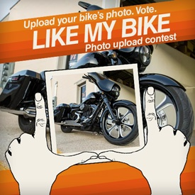 Subit your bike photo to the contest