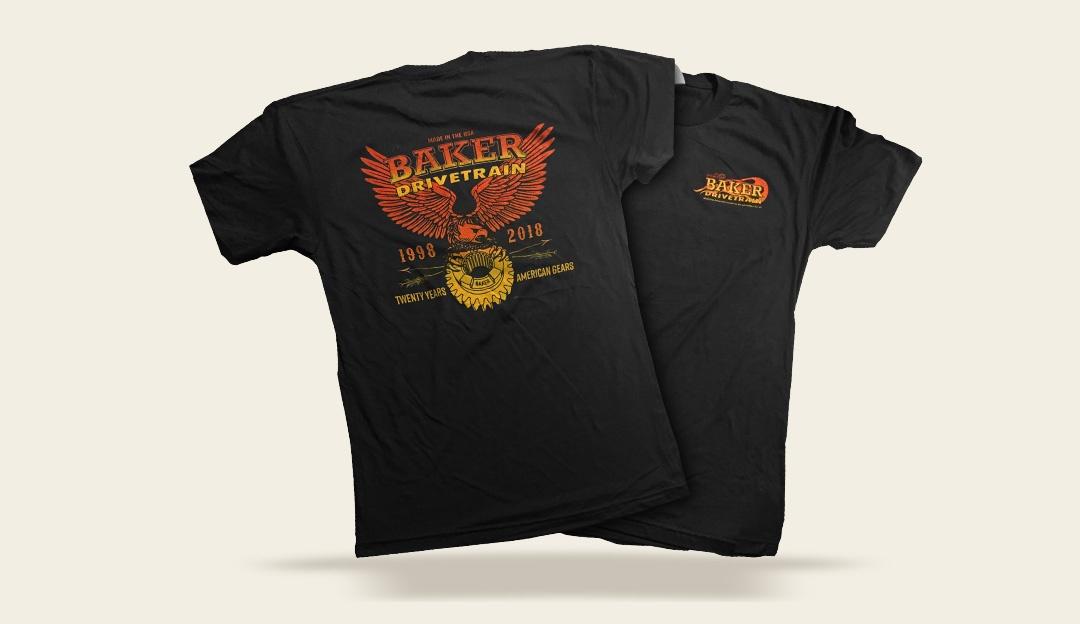 New BAKER Anniversary shirts
