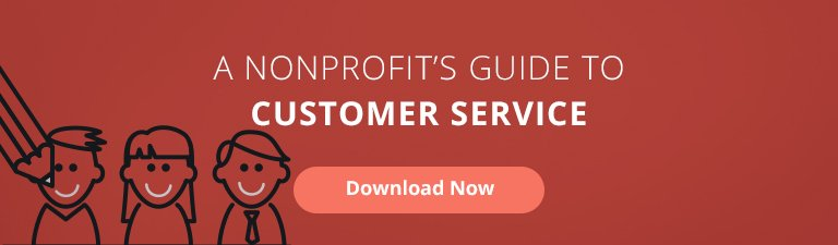customer service guide for nonprofits