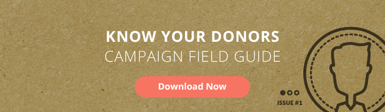 know your donors field guide for nonprofits