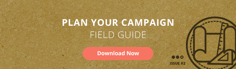 plan your campaign field guide for nonprofits