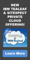 IBM Tealeaf & SiteSpect Private Cloud Offering