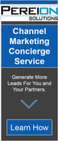 Provide your partners with a best in class marketing capability with Pereion's Channel Marketing Concierge Service Offering