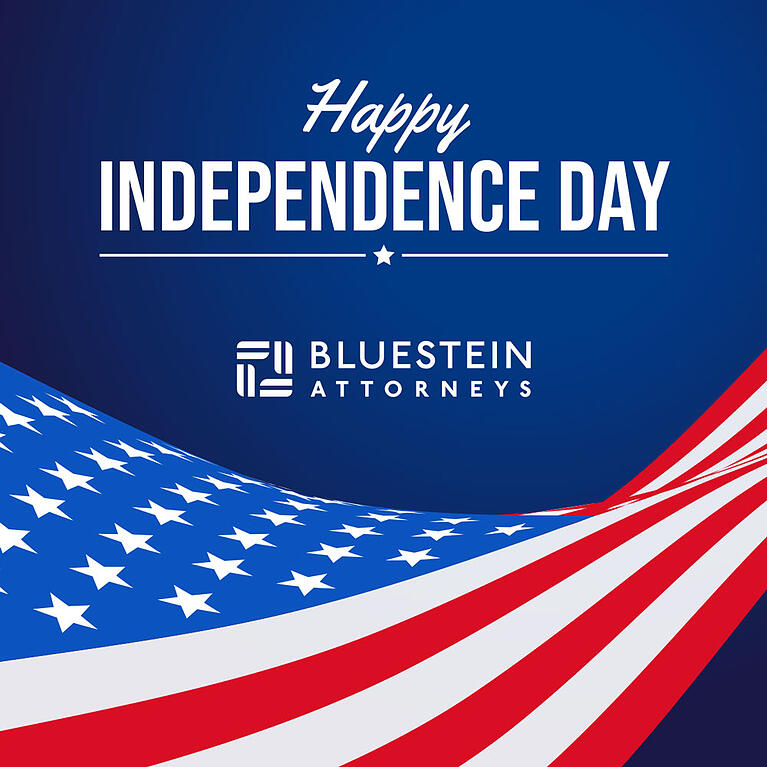 Happy Fourth of July from Bluestein Attorneys in Columbia, SC