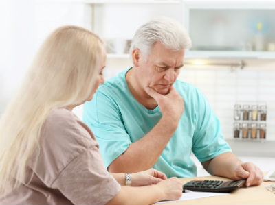 Couples filing taxes after receiving Social Security Disability benefits