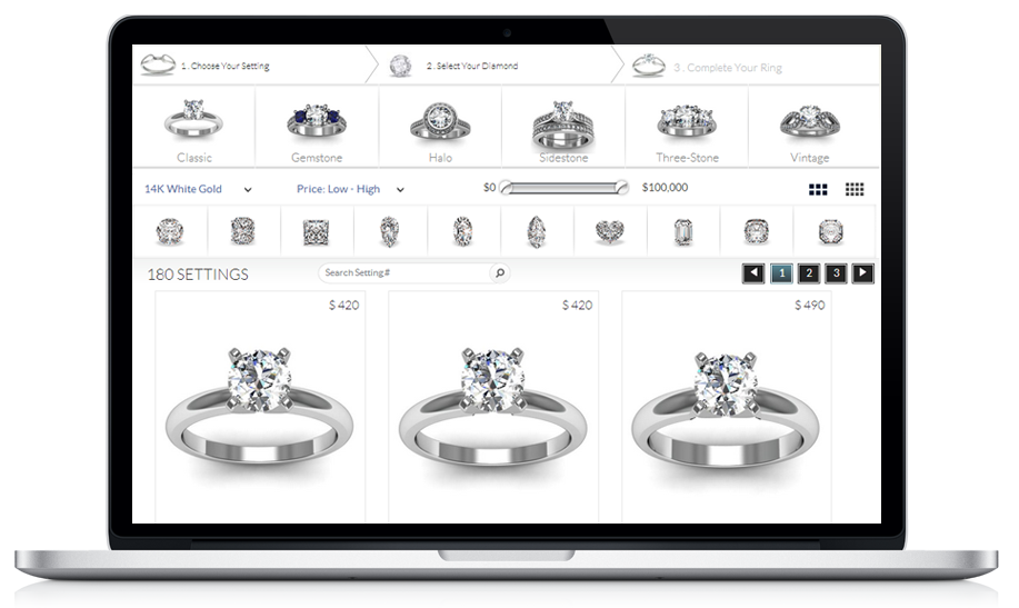 RingBuilder GemFind website engagement blog
