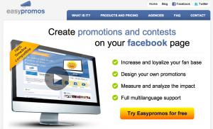 Create facebook contest app