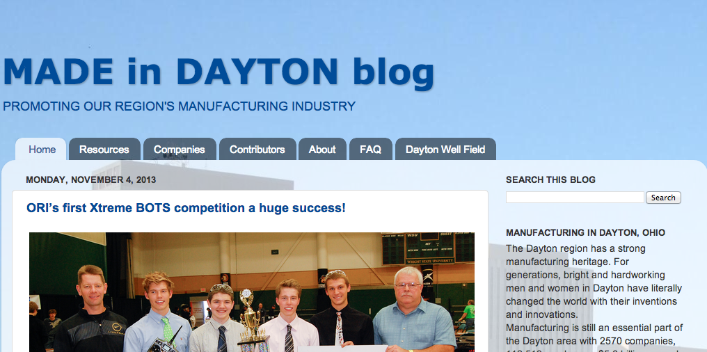 Made in Dayton Blog
