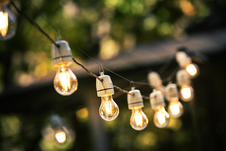 Follow These Expert Tips to Properly Hang Your String Lights