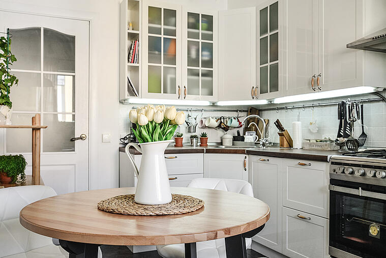 Make Your All-white Kitchen Stand out with Any of These Countertop Materials