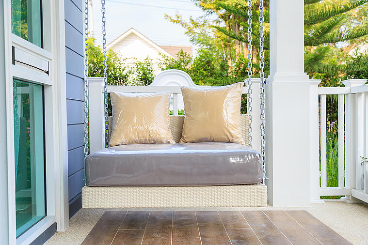 Add a Beautiful Porch Swing Using These Tips